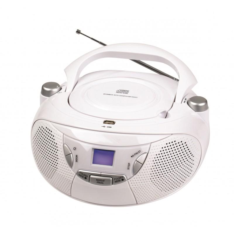KS-709D CD Boombox with PLL AM/FM radio
