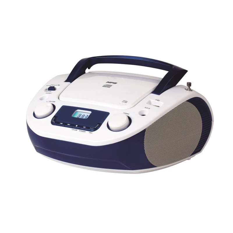 KS-868A CD Boombox with AM/FM radio