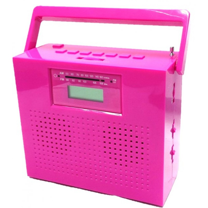KS-470B Portable AM/FM stereo radio with compact disc player