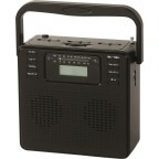 KS-470C Portable AM/FM stereo radio with compact disc player
