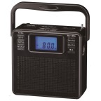 KS-470D Portable AM/FM stereo radio with compact disc player