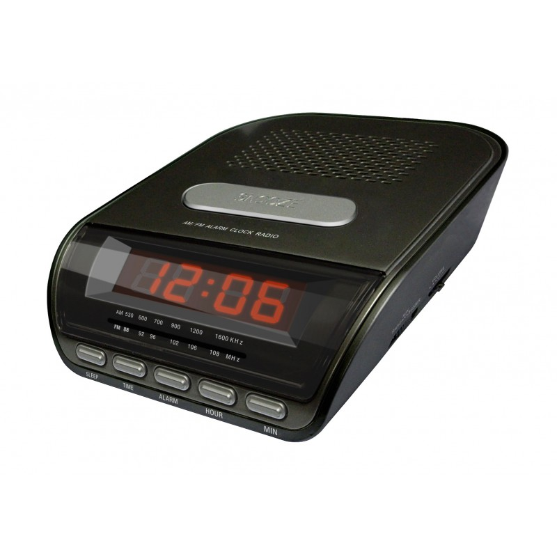 KS-722A Clock AM/FM Radio with Single Alarm