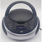 KS-JT216DAB CD Boombox with DAB/FM Radio and Alarm