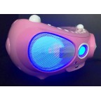 KS-858C Portable Party Speaker /Karaoke CD Boombox with Bluetooth